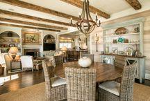 dining room ideas / by Sherri Nelson