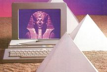 ∇ I N S P I R E D ∇ / Cyber art, collage art etc..