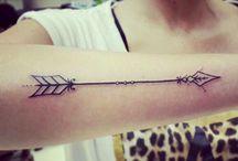 Arrow tattoo project