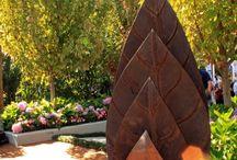 Escultura p jardim