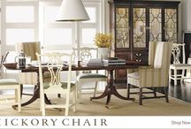 Hickory Chair Furniture / The Hickory Chair Furniture Co. began one hundred years ago in Hickory, North Carolina with a single product and a simple vision. The product was a made-to-order dining chair. In the decades since, their product range has evolved into an assortment of timeless designs.