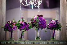 Purple Wedding Details / Wedding details that are purple!