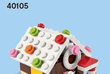 LEGO Christmas town