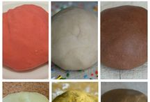 Play dough, clay, and slime / This board is just a bunch of play dough, clay, sand, and slime recipes.
