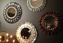 espelhos de concha