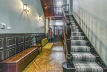 Impressive Entrance Ways and Hall Spaces / Pinning the most elegant and impressive hallways, entrance ways and landing spaces that we come across.