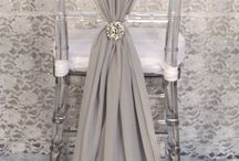Wedding - chair cover