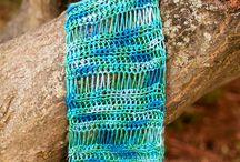 Crochet scarfs,shawls and wraps