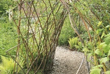 Summerford Cottage Willow tunnels