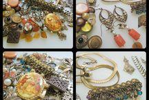Vintage, Lots, Destash, Etsy, Jewelry