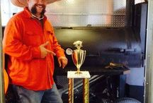 Competition / Pitmasters using their Lang BBQ Smokers at competitions