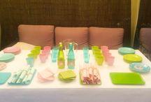 Catering para la comunión de Victoria / Catering que organizamos ayer para la comunión de una niña en su casa