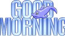 good morning / goede morgen