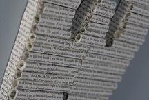 book & paper art