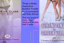 Boyfriend Bookstand / The ladies:  Victoria Tori Andrews, Haylie harbour, & Marley Roberts