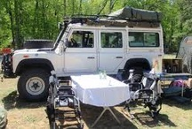 OVERLANDING / Overlanding describes self-reliant adventure travel to remote destinations where the journey is the primary goal. Accommodated by off-highway capable transport (from bicycles to trucks) where the principal form of lodging is camping; often lasting for extended lengths of time and often spanning international boundaries.
