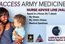 Info You Should Know / Essential Army medical information