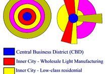 Urban Geography model