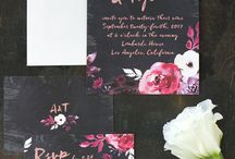Mimosa - Stationery, invitations and paper decorations