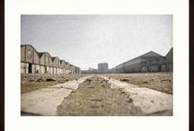 Bruno Cattani - Officine Reggiane - Framed art photography / Fotografia d'autore incorniciata