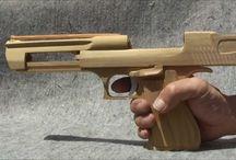 armes en bois