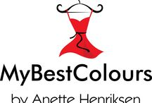 My Best Colours by Anette Henriksen / All about Colour and Style