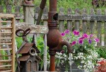 In giardino / Amo stare all'aperto
