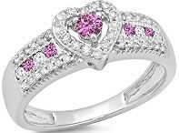 Promise Rings / The promise ring represents a relatively recent pre-marital trend among couples. The most common connotation of a promise ring is commitment. However, the implication of a promise ring differs from couple to couple. In fact, the very appeal of a promise ring stems from the many meanings it can symbolize.