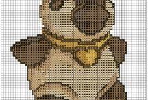 Cross stitch thun, punto croce thun / punto croce schemi