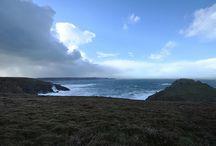 Le Finistère Sud un jour de tempête
