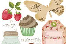 Printables/ Imprimibles Tags / Printables- imprimiblesgratis- imprimibles- labels- tags- holidays- christmas- kids- scrap- vintage- chalkboard