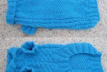 Mavi köpek kazağı