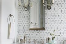Bathrooms / Clean serene and luxurious