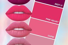 Lipsticks (limecrime)