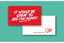 Pick Up Cards / Business cards with pick up lines.