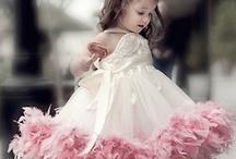Fluffy Little girl dress