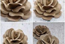 rose con rotoli carta igienica