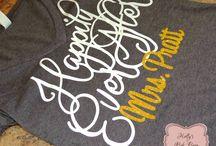 Wedding Apparel / Shirts, Tanks, PJ's, Slouchy Oversized Shirt. Wedding Party Gifts. Personalized Custom vinyl Pressed.