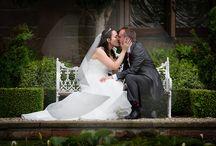 Bride & Groom / The beautiful bride and handsome groom