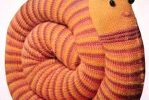 Knitted Toys and Dolls