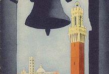 Старые плакаты о путешествиях