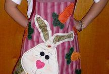 cucito - sewing apron - grembiuli cucina