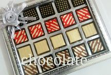 Chocolate Trays / Chocolate Trays and Platters designed by chocolatevenue