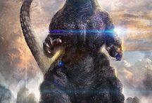 Godzilla / by Richard Channing