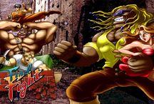 Final Fight / Final Fight foi um beat'em up lançado em 1989 pela Capcom e Creative Materials para os salões de máquina. O projectista do jogo foi o Akira Yasuda. Este jogo saíu também para as consolas Super Nintendo, Sega Mega CD, Mame, Amiga, Amastrad CPC, Atari ST, Commodore 64, ZX Spectrum, xBox, Game Boy Advance entre outras.