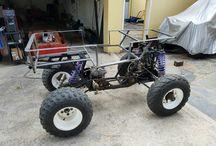 Mini 4 x 4 Jeep