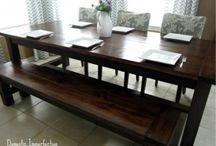 DIY kitchen table