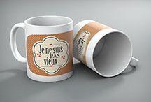 Mug personnalisé / Nous pouvons personnalisé vos mugs avec vos photos