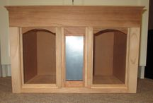 Room boxes for Miniatures / You can have fun with miniature scales without building a dollhouse!