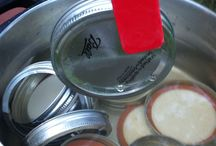Homemade Canning / Use magnetic bingo wands to collect piping hot canning lids.